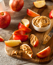 Almond Butter Apple Snack