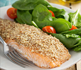 Almond Crusted Wild Salmon