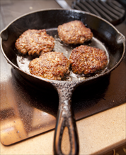 Apple and Leek Sausages