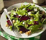 Arugula, Roasted Beet & Goat Cheese Salad