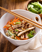 Asian Chicken Salad with Cashews