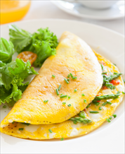 Asparagus and Tomato Omelet