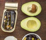 Avocado Sardine Stacks