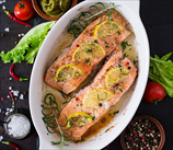 Baked Citrus-Herb Salmon