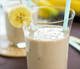 Banana Almond Delight Smoothie (Dairy Free, Grain Free)