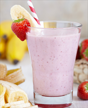 Banana Split Protein Smoothie
