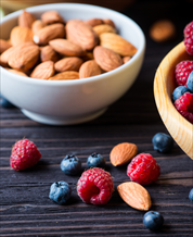 Blueberries & Almonds Snack