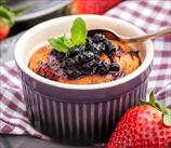Blueberry Soufflés