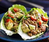 Buffalo Burrito Lettuce Wraps