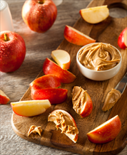 Cashew Butter Apple Snack