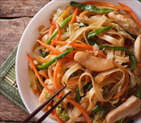 Paleo Chicken Chow Mein with Miracle Noodles