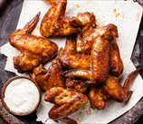 Baked Chicken Wings with Lemon Aioli