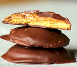 Chocolate-Covered Nutbutter Patties