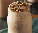 Chocolate and Peanut Butter Smoothie (Dairy Free, Vegan)