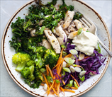 Superfood Chopped Crucifer and Chicken Salad
