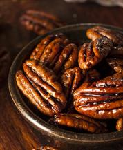 Cinnamon Spiced Pecans Snack