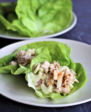 Classic Chicken Salad Lettuce Wraps