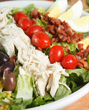 Crab Cobb Salad with Basil Vinaigrette