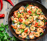 Cajun Shrimp with Garlic and Lemon