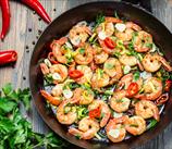 Cajun Shrimp with Garlic and Lemon
