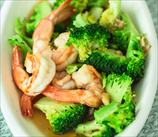 Curried Shrimp and Broccoli Salad