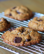 Dessert: Almond Butter Chocolate Chip Cookies