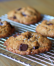 Dessert: Almond Butter Chocolate Chip Cookies (Low Sugar)