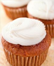 Dessert: Carrot Cake Cupcakes II (Gluten Free, Dairy Free, Sugar Free)