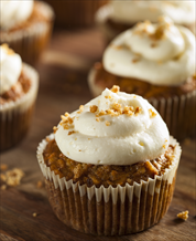 Dessert: Carrot Cake with Coconut Cream Frosting (Gluten Free, Grain Free)