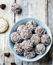 Dessert: Coconut Chia Truffles