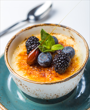 Dessert: Coconut Creme Brulee (Dairy Free)