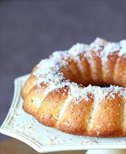 Dessert: Keto Coconut Sponge Cake