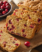 Dessert: Cranberry Bread