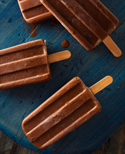 Dessert: Creamy Chocolate Fudgsicles (Dairy Free)