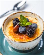 Dessert: Creme Brulee