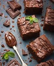 Dessert: Decadent Dark Chocolate Paleo Brownies