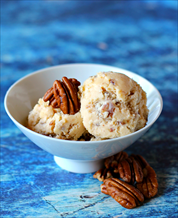 Dessert: Keto Butter Pecan Ice Cream