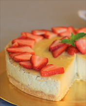 Dessert: Keto Cauliflower Cheesecake