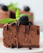 Dessert: Keto Chocolate Cheesecake