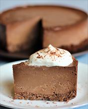 Dessert: Keto Truffle Cheesecake