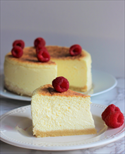 Dessert: Keto New York Cheesecake (Instant Pot + Oven Methods)