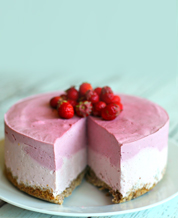 Dessert: Keto Strawberry-Lime Cheesecake
