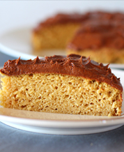 Dessert: Keto Yellow Keto Cake with Chocolate Buttercream