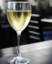 Wine: One 5 Ounce Glass Pinot Grigio
