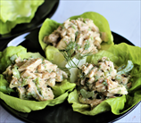 Dill Chicken Salad Lettuce Wraps