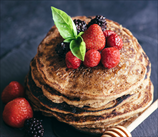 Easy Baked Plantain Pancakes