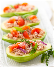Easy Mackerel Stuffed Avocados
