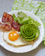 Eggs, Bacon & Avocado