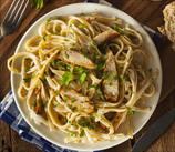 Keto Fettuccine Alfredo with Chicken