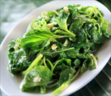 Garlicky Greens (Vegetarian)